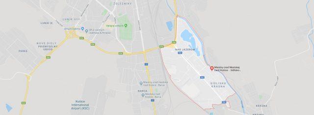 Predané - pozemok 2300 m2, priemyselná časť, KE - Nad Jazerom