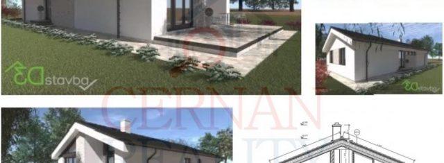 Predám bungalov - novostavba, vo výstavbe 525 m², Lemešany