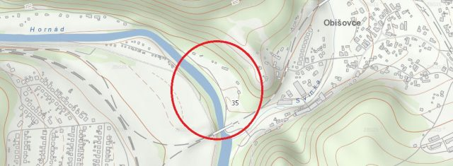 Pozemok 709 m2 Obišovce pri Košiciach
