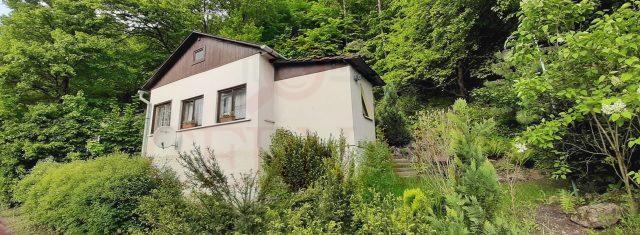 Chata s veľkou záhradou Trebejov 80 m2, 700 m2 pozemok