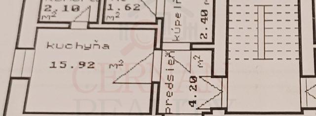 1i byt  49,34 (+ 16 m2 podkrovie) s vlastnou záhradou 186 m2 ul. Slovenského Košice - Sever